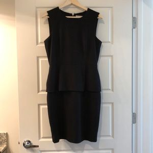 Calvin Klein Peplum Dress